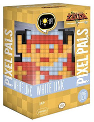 Pixel Pals Nintendo White 8-Bit Link Collectible Lighted Figure by PDP