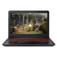 "ASUS FX504GD-RS51 15.6"" Gaming Laptop -Core i5-8300H, 8GB RAM, GTX 1050 2GB, 1TB SSHD, Win 10, Coffee Lake (Open Box)"