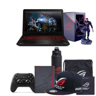 "ASUS FX504GM-ES74 15.6"" Gaming Laptop - Intel® Core™ i7-8750H 2.2 GHz, GTX 1060, 16GB RAM, 256GB SSD, 1TB HDD, Windows 10"