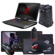 """ASUS ROG G703GI-WS91K 17.3"""" 4K UHD Gaming Laptop - Intel Core i9-8950HK, GTX 1080 8GB, 17.3"""" IPS  UHD 3840X2160, G-Sync, 2TB SSHD, 16GB DDR4"""