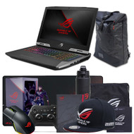 "ASUS ROG G703GI-XS71 17.3"" Gaming Laptop - Intel Core i7-8750H, GTX 1080 8GB,  144Hz 3ms G-SYNC Display, 256GB PCIe SSD + 1TB SSHD, 16GB DDR4, RGB Keyboard"