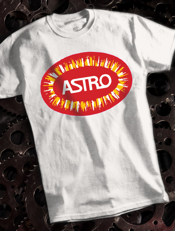 Bultaco Astro Mens T-shirt on White
