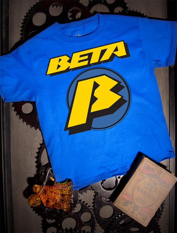 Beta Kids T-shirt on Blue