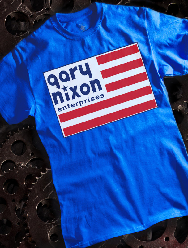 Gary Nixon Mens Tee
