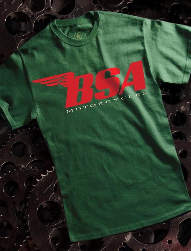 BSA Red Mens Tee
