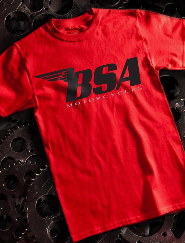 BSA Black Mens Tee