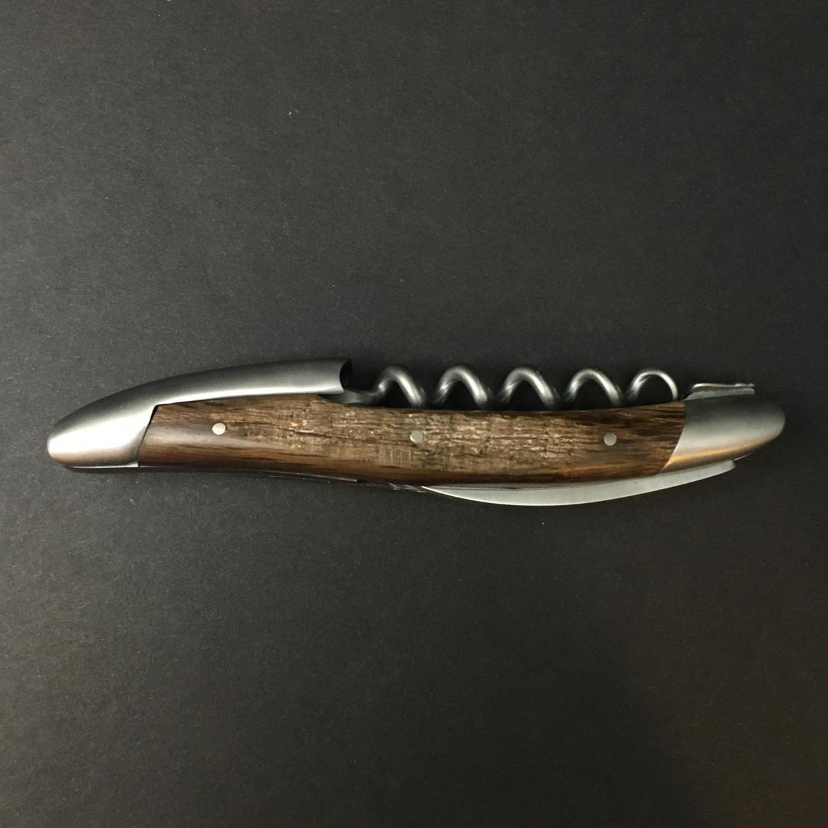 Forge De Laguiole - Sommelier Key - Matte - 5000 yr Fossilized Oak