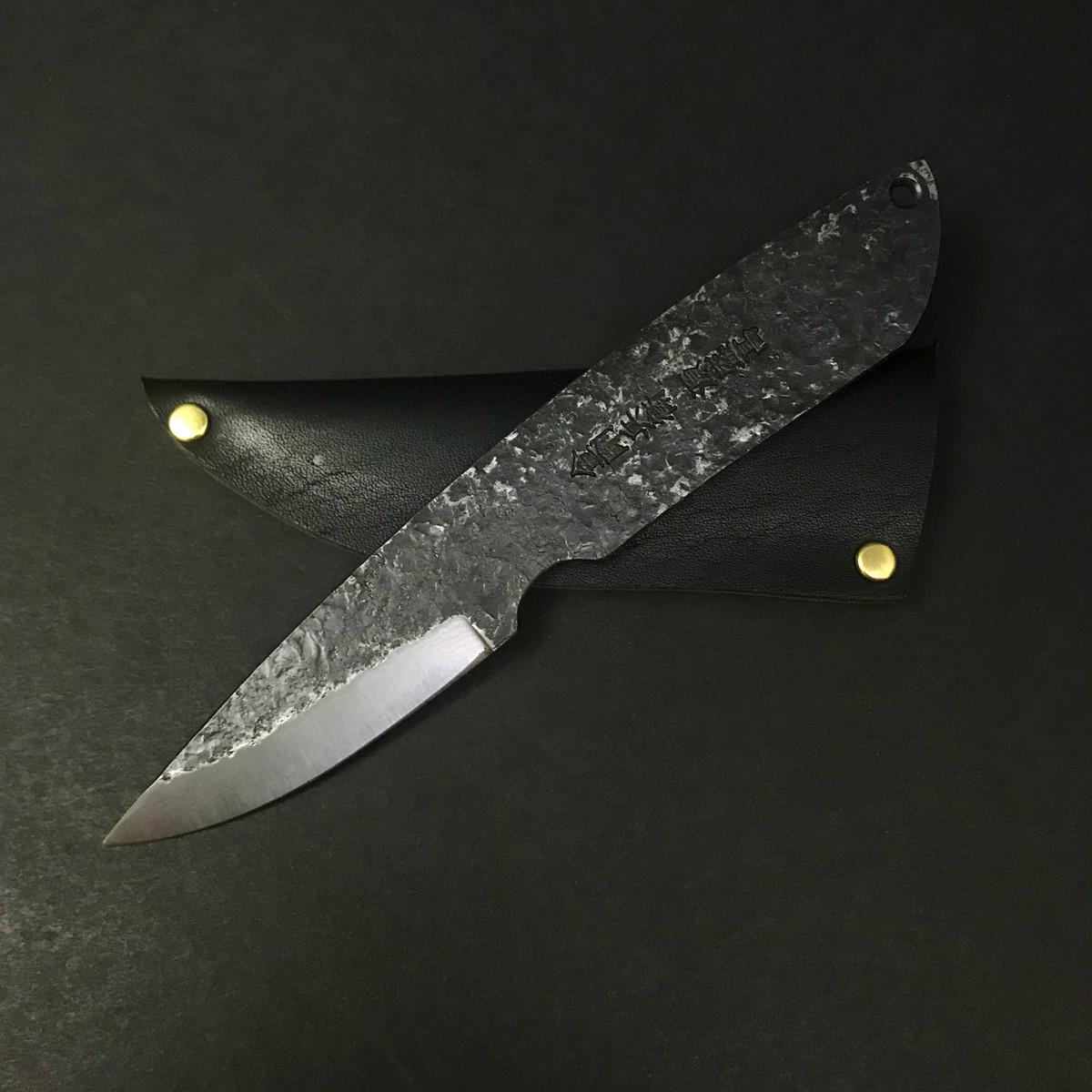Moritaka - Craft Knife - Aogami #2 Damascus