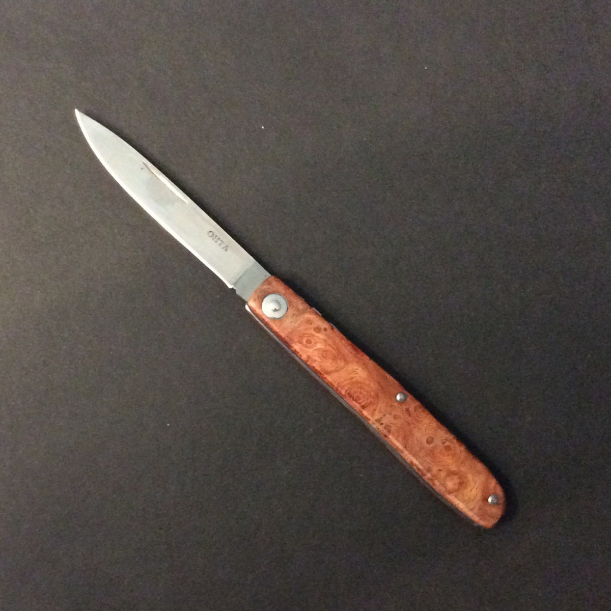 Ohta Locking Folder - Spalted Quince - 7cm