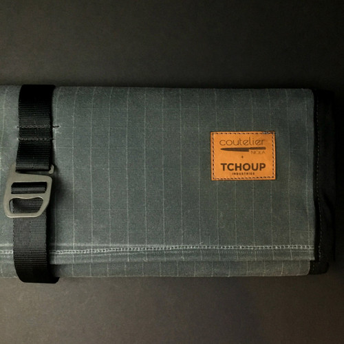Tchoup Bags - Knife Roll - 9 Pocket - Slate