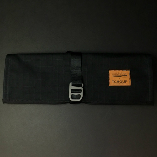 Tchoup Bags - Tool Roll - 8 Pocket - Black