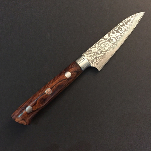 Takeshi Saji - R2 Damascus (Ironwood) - Paring
