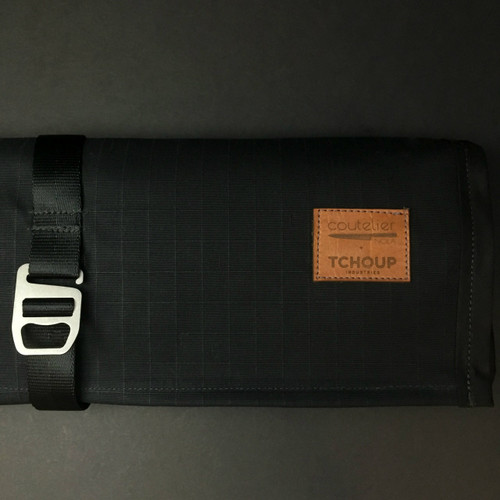 Tchoup Bags - Knife Roll - 9 Pocket - Black