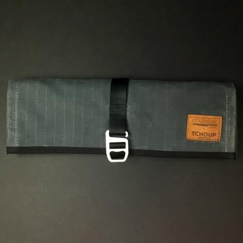 Tchoup Bags - Tool Roll - 8 Pocket - Slate