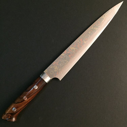 Takeshi Saji - Rainbow (Ironwood) - Sujihiki 240mm