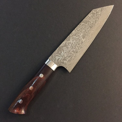 Takeshi Saji - R2 Damascus (Ironwood) - Bunka