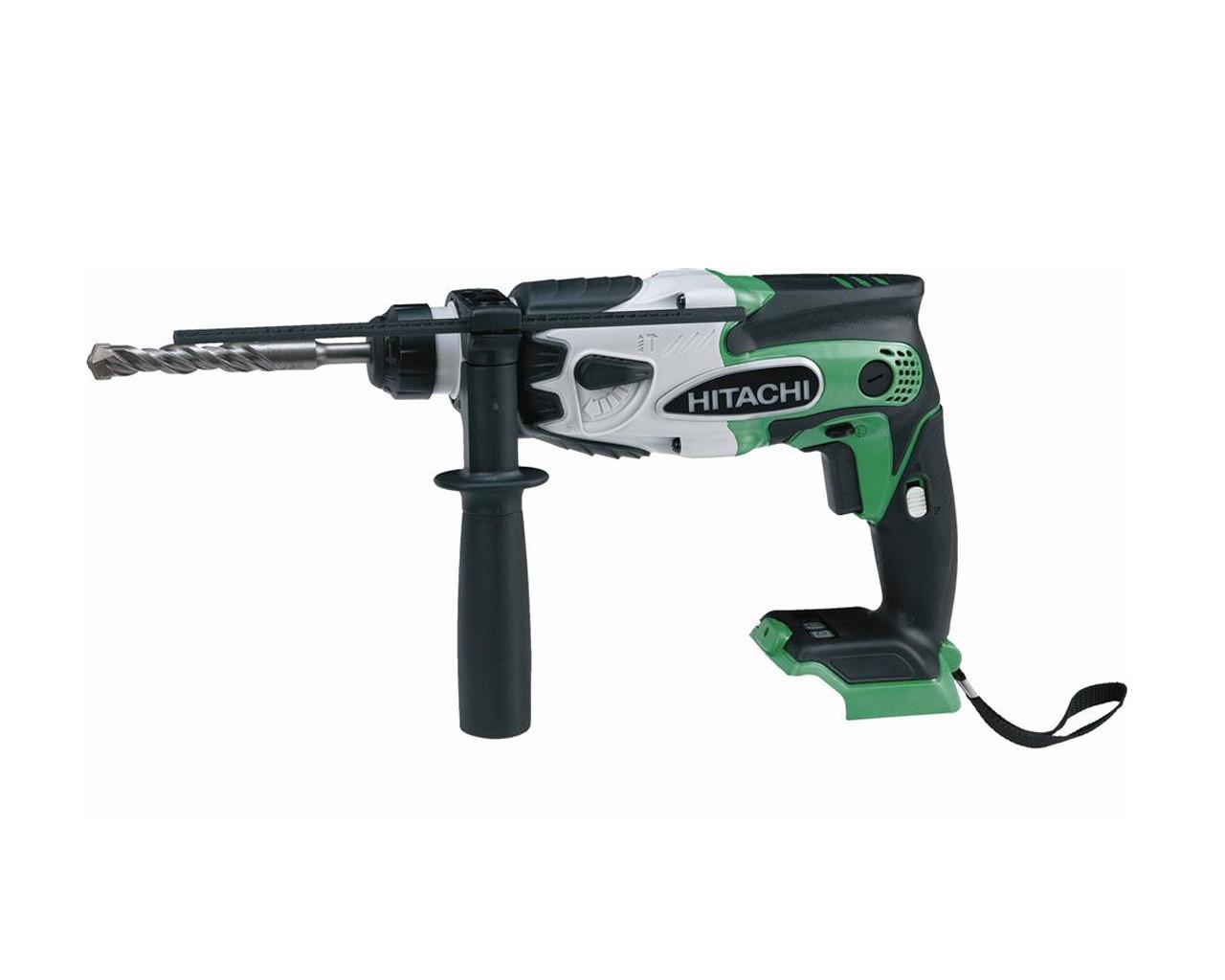 Hitachi Dh18dsl H4 Rotary Hammer Drill 18v Skin Only