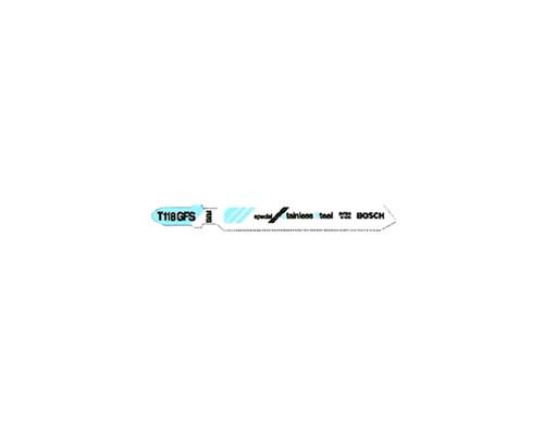 Bosch T118EFS Jigsaw Blades Stainless Steel Cutting (5x)
