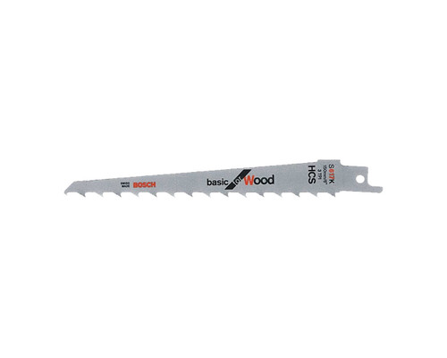 Bosch S617K Sabre Saw Blade Basic for Wood (2x)