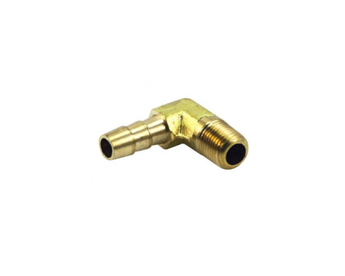 """Air Fittings P6 Elbow Male 1/4"""" Barb 1/2"""""""