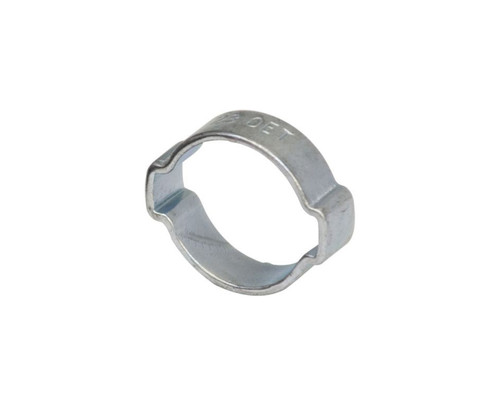 "Air Fittings Steel Double Ear Clamp 25-28mm (1-1/16"")"