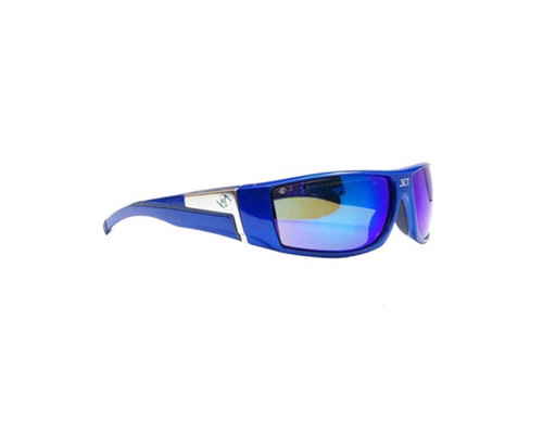 Bandit 5506SBLBM Safety Glasses Jet Blue