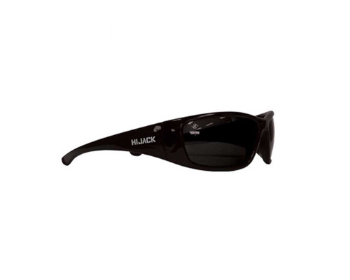 Bandit 822SBPS Safety Glasses Hijack Polarised Black