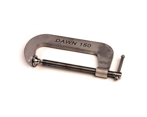 "Dawn 61152-FSS G-Clamp S/S Marine Grade 316 Fabricated 75mm (3"")"