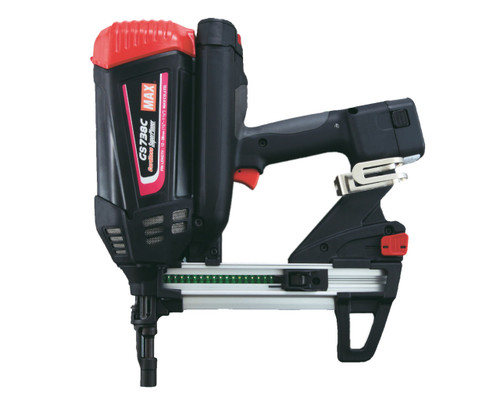 MAX GS738C Cordless Gas Concrete Nailer Kit