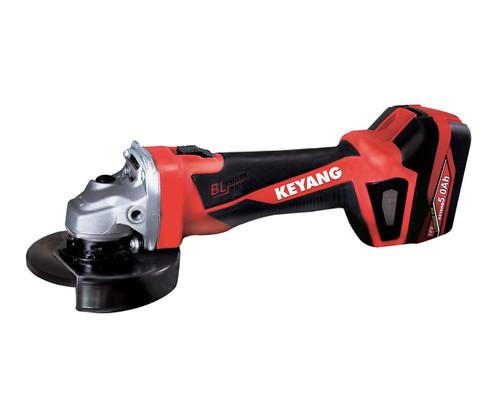 Keyang 18v Cordless 125mm Angle Grinder Tool Only K-DG18BL-125-NT