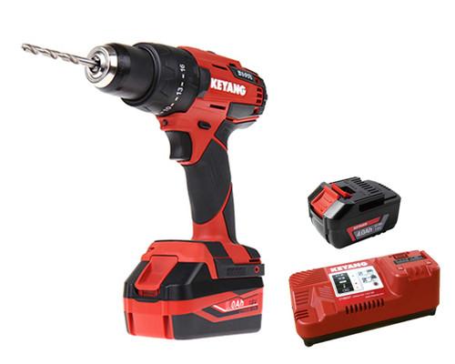 Keyang 18V Cordless Brushless Hammer Drill Kit 4.0Ah K-DM18BL