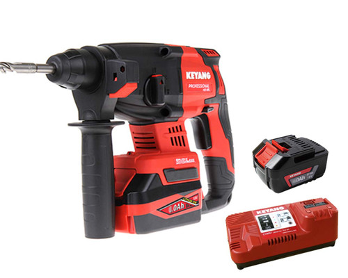 Keyang 18V Cordless Brushless Rotary Hammer Kit 5.0Ah K-HD18BL