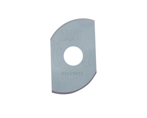 "Dart PC115252 Coolroom Panel Wing Cutter 115mm (4.5"") x 25mm x 2T"