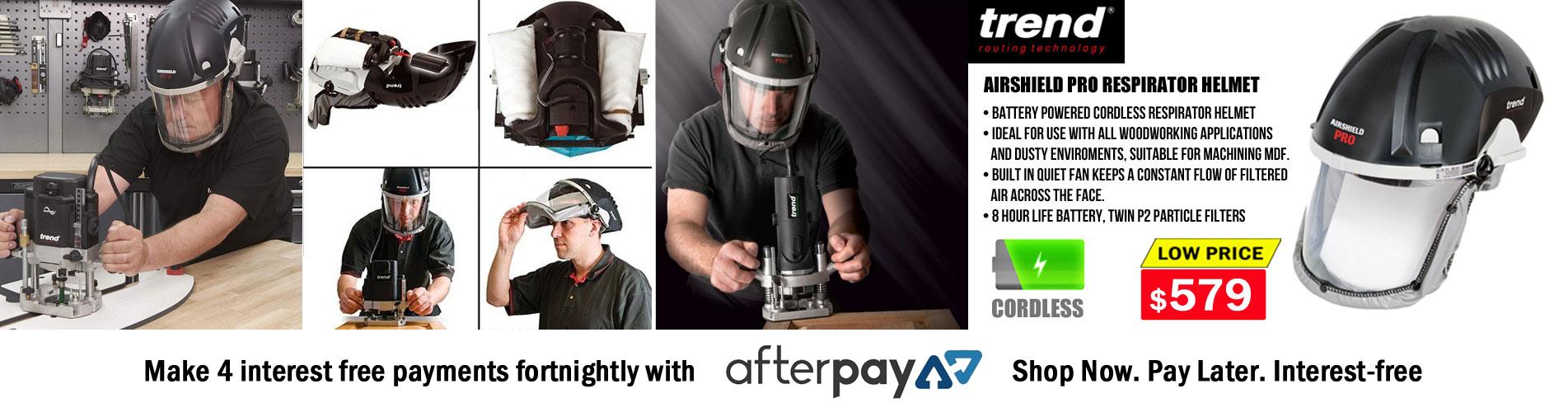 woodworking respirator helmet - Audel Tools