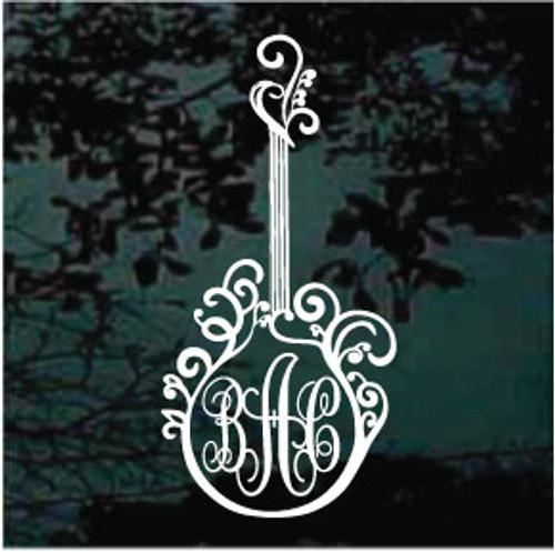 Decorative Guitar Monogram