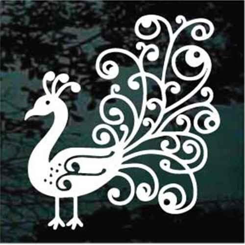 Decorative Peacock