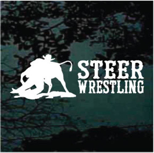 Steer Wrestling Quote