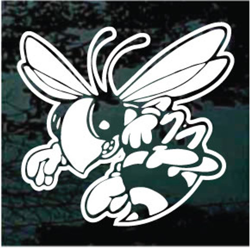 Yellow Jackets Bee Decals
