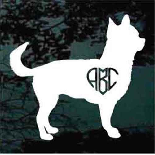 Chihuahua Monogram