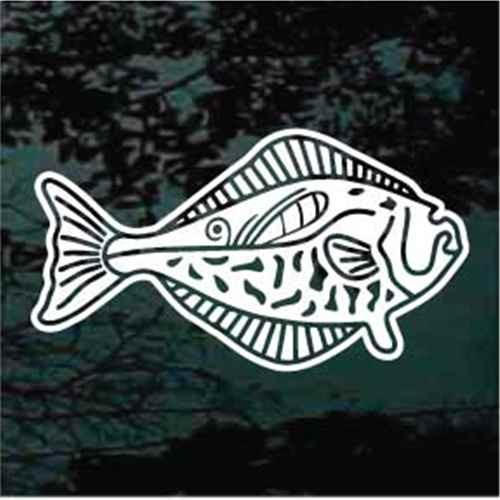 Detailed Halibut Fish