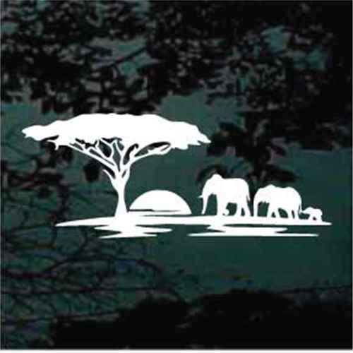 African Elephants Safari