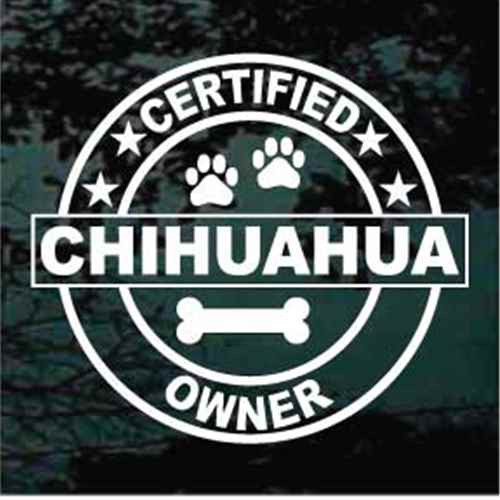 Certified Chihuahua Owner