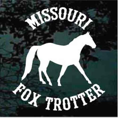 Missouri Fox Trotter Design