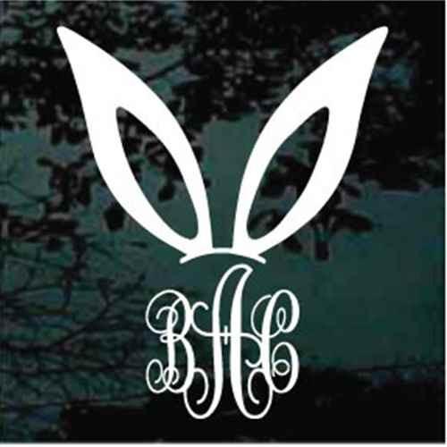 Bunny Ears Monogram