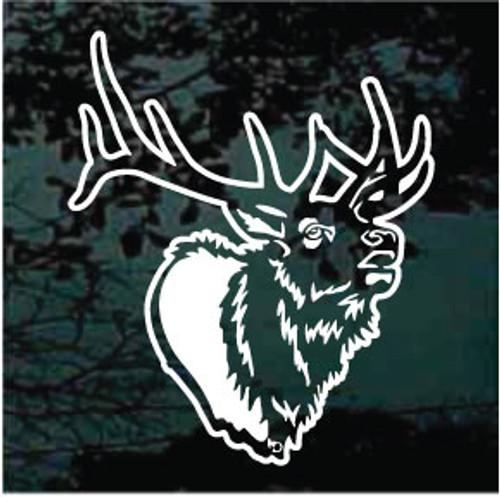 Detailed Elk Head