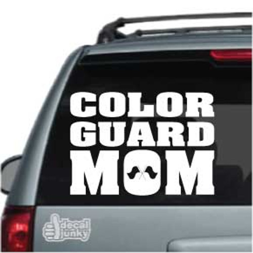 Color Guard Mom Stickers