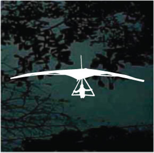 Hang Gliding Silhouette