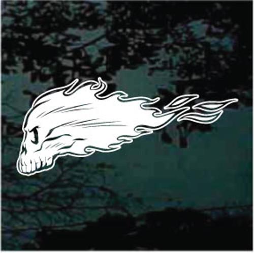 Flaming Skull 04