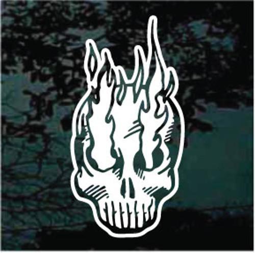 Flaming Skull 03