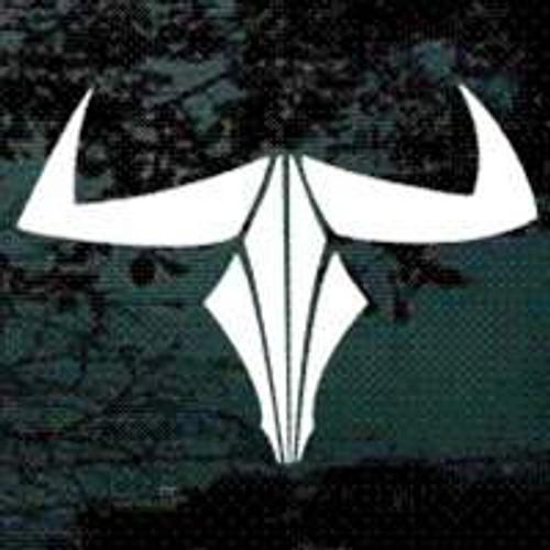 Tribal Bull Skull 01